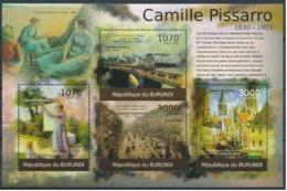 BURUNDI :   MNH :  PAINTINGS : ART : CAMILLE PISSARO-2 - 2010-..: Neufs
