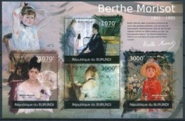 BURUNDI :   MNH :  PAINTINGS : ART : BERTHE MORISOT-2 - 2010-..: Neufs