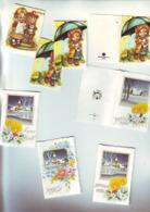Noel Et Fetes : Lot 8 Jolies Etiquettes De Noel , Depliantes - Decorative Items