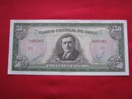 Chile 50 Escudos 120.5 - Chili