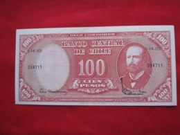 Chile 10 Centimos De  Escudos 109.2 - Chili