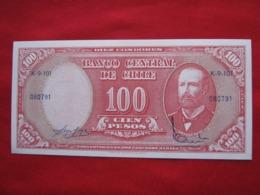 Chile 10 Centimos De  Escudos 109.3 - Chili