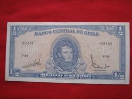 Chile 1/2  Escudo 115.4 - Chili