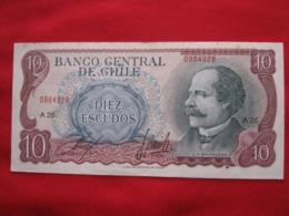 Chile 10  Escudos 119 - Chili