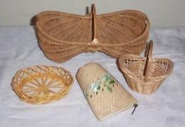 Lot De Jolis Petits Paniers Decoratifs - - Kerstversiering