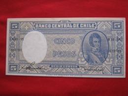 Chile 5 Pesos 62.1 - Chili