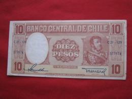 Chile 10 Pesos 70.1 - Chili