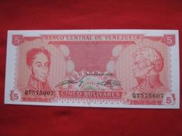 Venezuela 5 Bolivares 1989 - Venezuela
