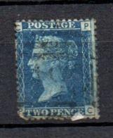 GB Line Engraved  Victoria 2d Blue Spacefiller - 1840-1901 (Viktoria)