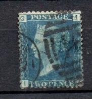 GB Line Engraved  Victoria 2d Deep Blue Used - 1840-1901 (Viktoria)