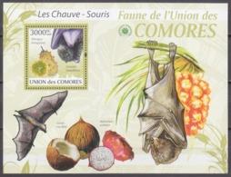 2009Comoro Islands2470/B532The Bats / Fruits15,00 € - Bats