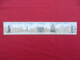 Planche De Timbres Neufs Belgique - Grand Place De Tournai - 500 Ans De La Prise De Tournai Henri VIII - 2013 - Foglietti