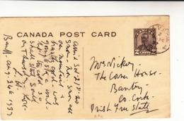 Canada / Railways / Illustrated Stationery Postcards - Canada