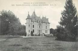 """CPA FRANCE 44 """"Basse Goulaine, Château De La Herderie"""" - Francia"""
