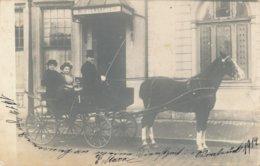 Circulée De Osnabruck (Allemagne) Wintergarten - Hanovre ? Attelage 1914 - Osnabrück
