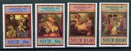 Niue MiNr. 777-80 Postfrisch MNH Weihnachten (Wei410 - Niue