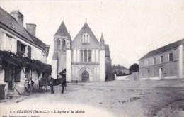 49 - Maine Et Loire -  BLAISON - L Eglise Et La Mairie - France