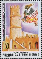 Tunisie (Rep) Poste N* Yv:841 Mi 904 Yv:1 Euro Le Ribat-Monastir (sans Gomme) - Tunisia (1956-...)
