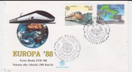 Italy 1988 FDC Europa CEPT (G104-40) - Europa-CEPT