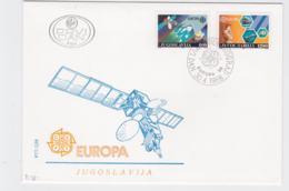 Yugoslavia 1988 FDC Europa CEPT (G104-40) - Europa-CEPT