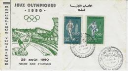 TUNISIE - 25 Août 1960 - Premier Jour  Jeux Olympiques   - - Sommer 1960: Rom