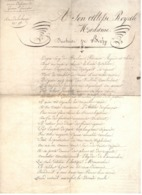 24497 - A Son Altesse Royale... - Manuscrits
