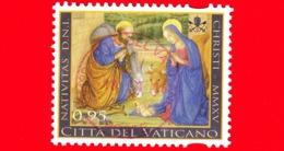 VATICANO - Usato - 2015 - Natale - 0,95 - Santa Famiglia - Vaticano