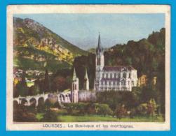 IMAGE LE HALL CAYHOLIQUE DEPOSITAIRE DE LA CROIX DE PARIS A. MOULIN LOURDES TABAC TIMBRES - Autres