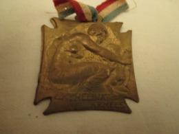 Medaille -  Orphelinat Des  Armées  - Signé  R . LALIQUE - Frankrijk