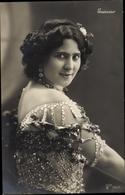 Cp Tänzerin Rosario Guerrero, Portrait - Personnages Historiques