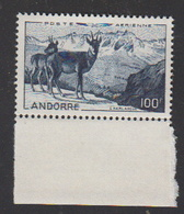 ANDORRE-1950.P.A.N°1** IZARDS - Luftpost