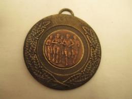 Medaille -  Bronze  - Course  A Pieds  - Diametre  50 Mm - Frankrijk