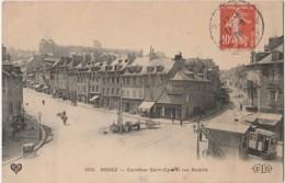 H29- 12) RODEZ - CARREFOUR SAINT CYRICE ET RUE BETEILLE - Rodez