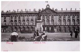 54 NANCY - Hôtel De Ville  [REF/S009128] - Nancy