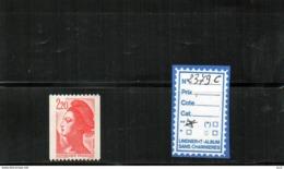 Liberté -  Roulettes **  N°2379c - Francobolli In Bobina