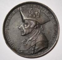 MEDAILLE MORT DE FREDERIC II LE GRAND, ROI DE PRUSSE, ALLEMAGNE. MEDAL. GERMANY. - Royal/Of Nobility