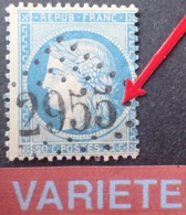 R1917/353 - CERES N°37 - GC 2955 : PONT-SAINT-PIERRE (Eure) INDICE 4 - VARIETE ➤➤➤ Griffe Derrière La Nuque - 1870 Siège De Paris