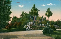 Postcard Stettin Szczecin Alm In Westend 1914  - Pommern