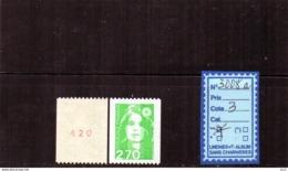 Marianne Du Bicentenaire - FRANCE LUXE ** ROULETTES - 3008a - Francobolli In Bobina
