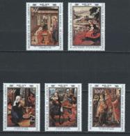 Cameroun YT 640-644 XX / MNH Art Peinture Renaissance Botticelli - Cameroon (1960-...)