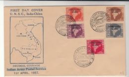 India / Maps / U.N.Forces / Cambodia - India