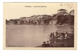 47 LOT ET GARONNE - TONNEINS Vue De La Garonne, Traitée En Carte Photo (voir Descriptif) - Tonneins
