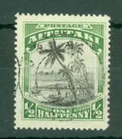 Aitutaki: 1924/27   Pictorial    SG30   ½d     Used - Aitutaki