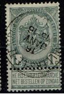 53  Obl Relais  Villers-Le-Temple  +15 - 1893-1907 Coat Of Arms