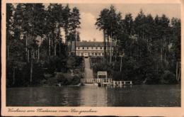 ! Alte Ansichtskarte 1940, Kurhaus Am Niedersee, Ostpreußen, Stempel Ortelsburg - Polen