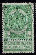 56  Obl Relais  Wépion  +30 - 1893-1907 Coat Of Arms