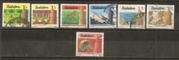 Zimbabwe 1985 Agriculture Et Industrie Obl - Zimbabwe (1980-...)