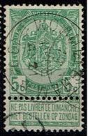 56  Obl Relais  Wommelghem  +15 - 1893-1907 Coat Of Arms