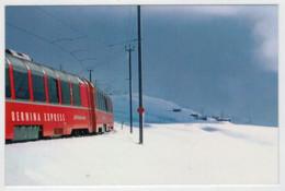 SVIZZERA    TRAIN- ZUG- TREIN- TRENI- GARE- BAHNHOF- STATION- STAZIONI  2 SCAN  (NUOVA) - Trains