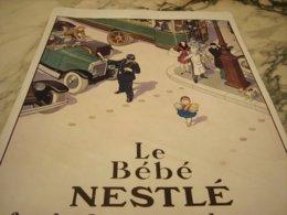 ANCIENNE PUBLICITE ADMIRATION DE TOUS NESTLE 1929 - Manifesti